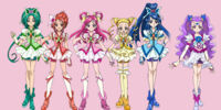 Yes Pretty Cure 5 Go Go Girls