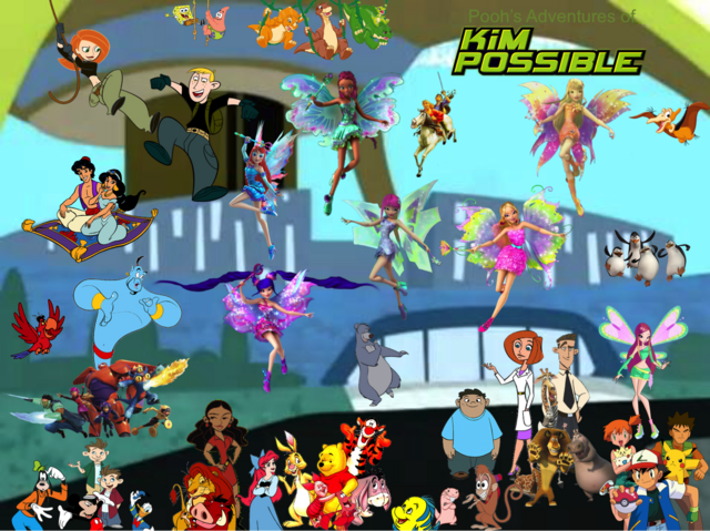 File:Pooh's Adventures of Kim Possible Season 3 Poster (CGI Mythix).png
