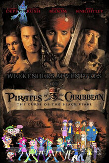 Weekenders Adventures of Pirates of the Caribbean Poster 1