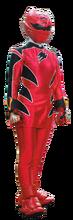 Jungle Fury Red Ranger (Female)