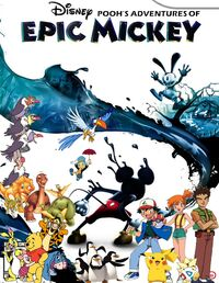Pooh's Adventures of Epic Mickey Poster 2