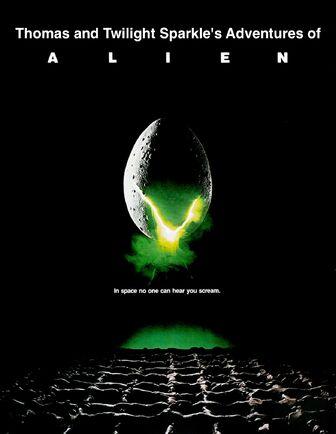 Thomas and Twilight Sparkle's Adventures of Alien