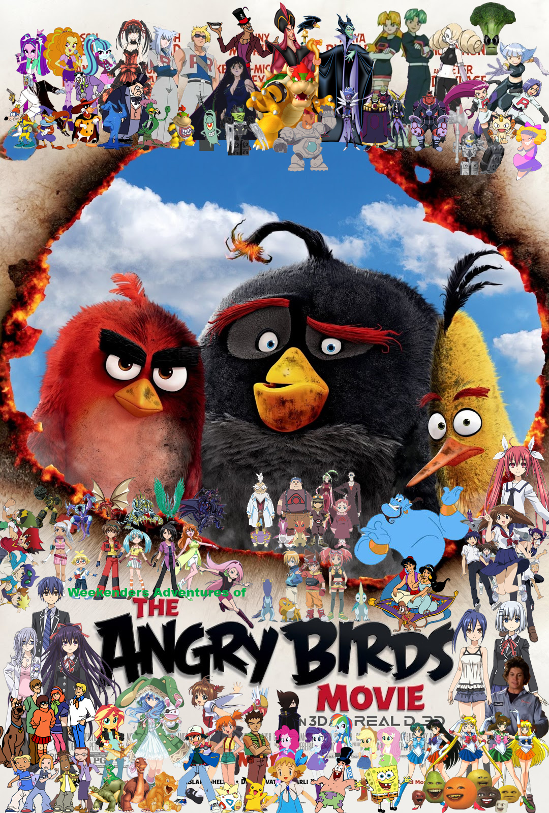 Image Weekenders Adventures Of The Angry Birds Movie Jpg