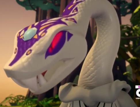 White pythor