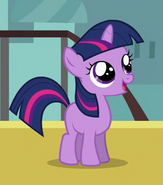 Twilight Sparkle as a unicorn filly