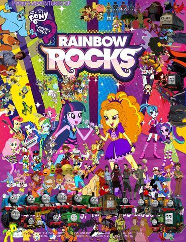 File:Pooh's Adventures of My Little Pony - Equestria Girls - Rainbow Rocks Poster 2.jpg