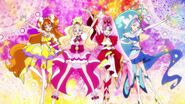 The Glitter Force Royals
