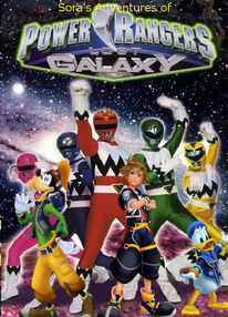Sora's Adventures of Power Rangers Lost Galaxy poster