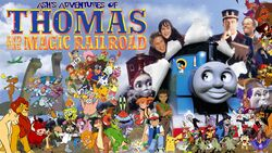 Ash's Adventures of Thomas and the Magic Railroad Poster 2
