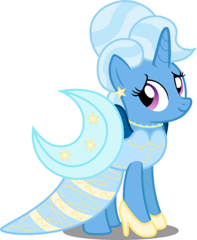 File:Commission trixie with a gala dress by canterlotian-d8mh72u.png