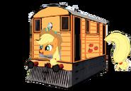 Applejack as a Thomas character