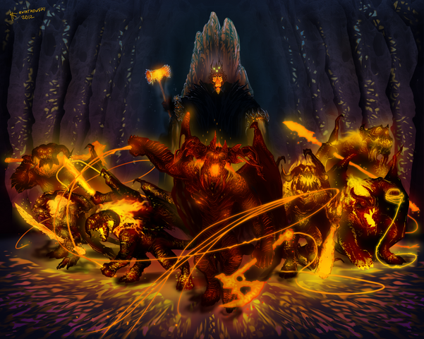 File:The balrogs of morgoth by thylacinee.png