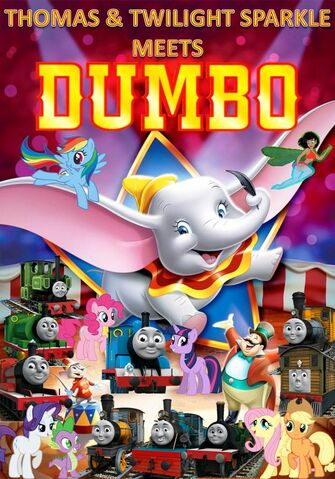 File:Thomas and Twilight Sparkle meets Dumbo Poster.jpg