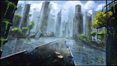 City ruins by gugo78-d69e906