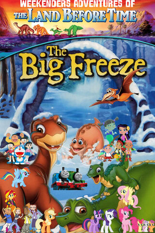 File:Weekenders Adventures of The Land Before Time 8- The Big Freeze (Remake poster).jpg