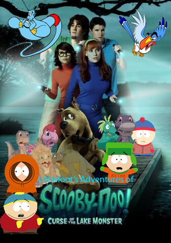 File:Littlefoot's Adventures of Scooby-Doo! Curse of the Lake Monster Poster.jpg