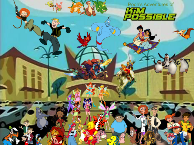 File:Pooh's Adventures of Kim Possible Season 1 Poster (Charmix (Nickelodeon)).png