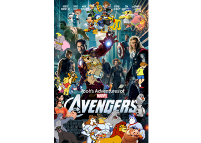 Pooh's Adventures of The Avengers