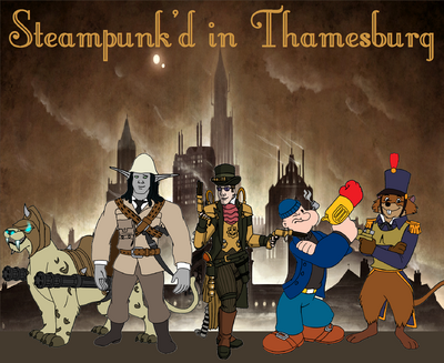 Thamesburg Poster