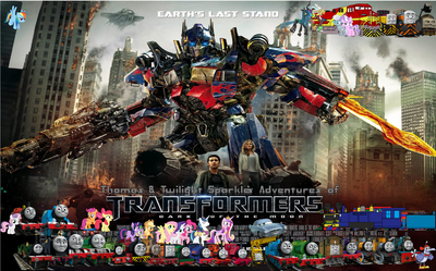 Thomas & Twilight's adventures of Transformers III