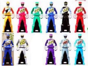 The 11 dino charge keys
