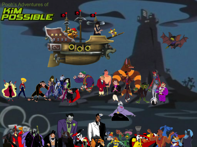 File:Pooh's Adventures of Kim Possible Villains Poster 5.png