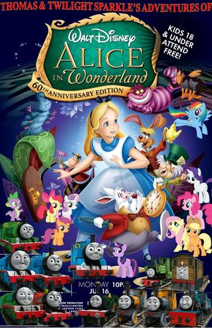 File:Thomas and Twilight Sparkle's Adventures of Alice in Wonderland Poster.jpg