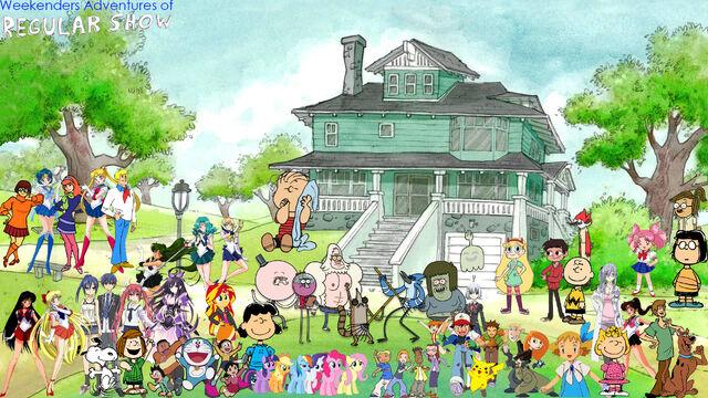 File:Weekenders Adventures of Regular Show (Season 1).jpg