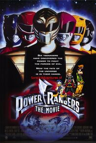 Sora's Adventures of Mighty Morphin Power Rangers the Movie poster