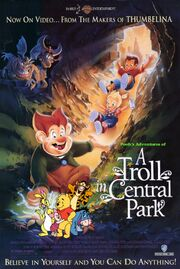 Pooh's Adventures of A Troll in Central Park Poster