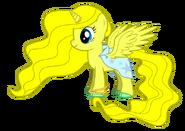 Princess Emeraude pony