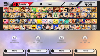 Super smash bros every character and rayman by spikeylord-d8iy2yn