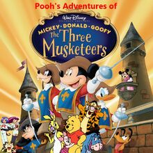 Pooh's Adventures Of The Three Musketeers Poster (New Version)