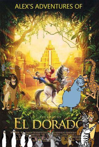 File:Alex's Adventures in The Road to El Dorado Poster (Version 2).jpg