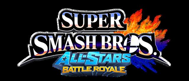 File:Super Smash Bros All Stars Battle Royale Logo.png