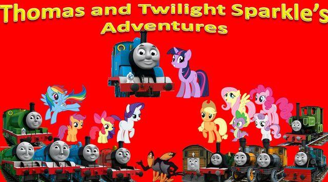 File:Thomas & Twilight Sparkle's Adventures Series 2.jpg
