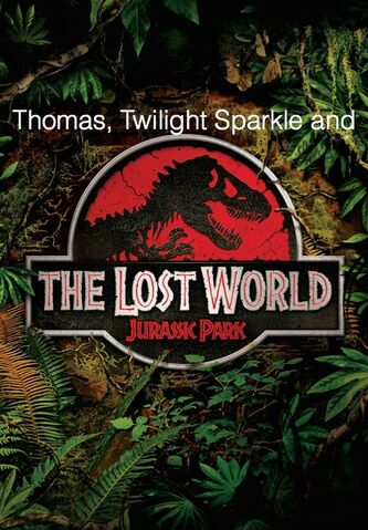 File:Thomas, Twilight Sparkle, and The Lost World.jpg