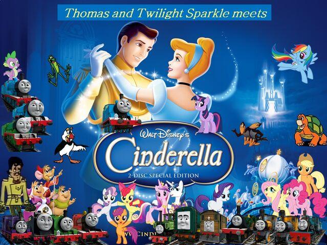 File:Thomas and Twilight Sparkle meets Cinderella Poster.jpg