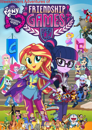 Weekenders Adventures of My Little Pony- Equestria Girls - Friendship Games