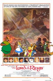 Alice, Pooh, and Robin Hood's Adventures of The Lord of the Rings Poster