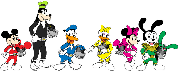 Disney Force Rangers