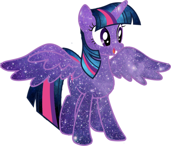File:Galaxy twilight sparkle vector by minkystar-d79imoa.png