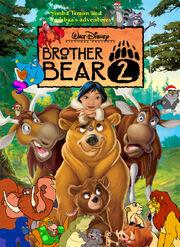 Simba Timon and Pumbaa's adventures of Brother Bear 2 Poster