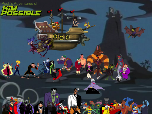 File:Pooh's Adventures of Kim Possible Villains Poster 4.png