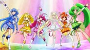 The Glitter Force team