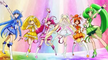The Glitter Force team