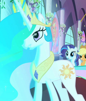 Princess Celestia ID S2E1 unicorn