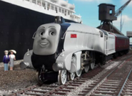 Spencer with Silver buffers