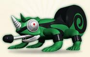 Chameleon Animal Sirit
