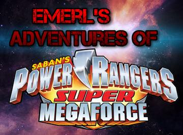 Emerl's Adventure's Of Power Rangers Super Megaforce Logo